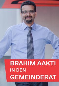 Brahim Aakti in den Gemeinderat